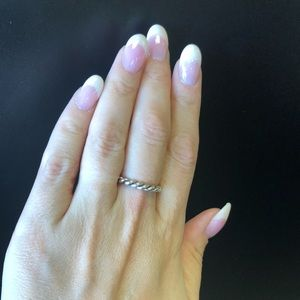 Braided Silver Ring
